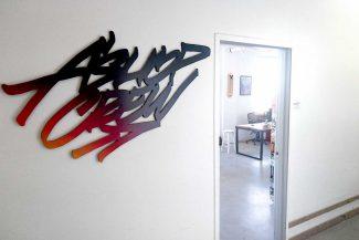 Entrée du bureau des Productions ASHOP - Crédits photo : Olivier Dalban