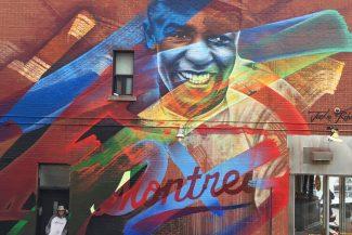 Hommage à Jackie Robinson (Festival MURAL. Montréal, 2017) - Fluke - Credit photo : Kris Murray