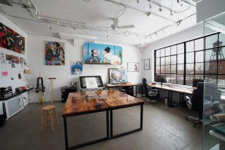 Le studio graphique des Productions ASHOP - Crédits photo : Productions Ashop